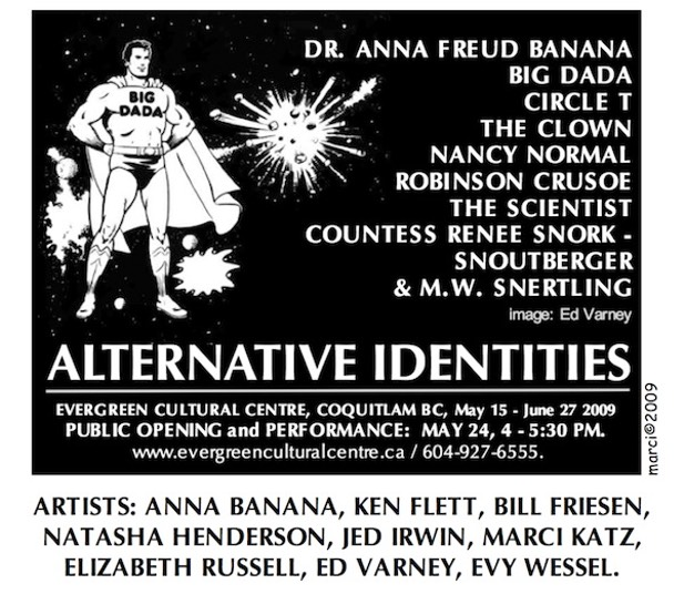 Alternative Identities invitation